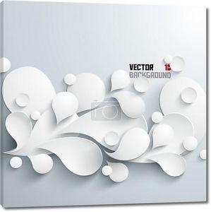абстрактный 3-й геометрический дизайн векторные