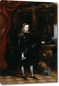 Карреньо де Миранда Хуан. Король Испании Карл II в юном возрасте
