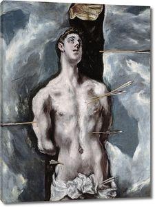 Эль Греко. Святой Себастьян