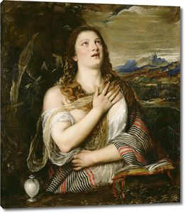 Тициан. Кающаяся Мария Магдалина.