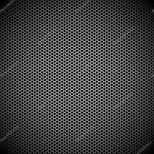 Шестиугольник металлический фон