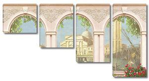 Представление от окна до Венеции