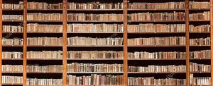 Старые книжные полки