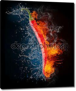 горящий перец