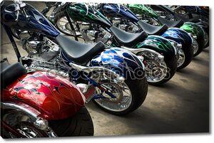 Красочные пользовательских Мотоциклы