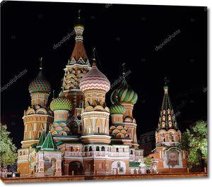 ночь st. Василия Блаженного