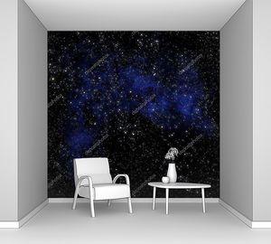 Открытый космос с туманностью