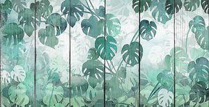 Резные пальмовые листья
