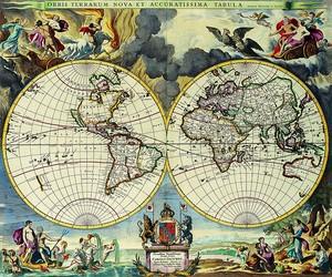 Невероятная красивая карта