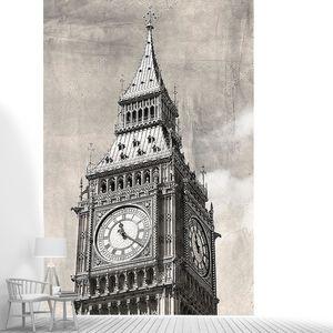 старинный вид Лондона, Биг-Бен