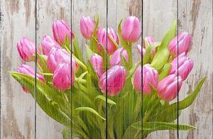 связка тюльпанов