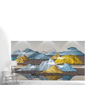 Сопки с золотыми холмами