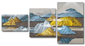 Сопки с разноцветными холмами