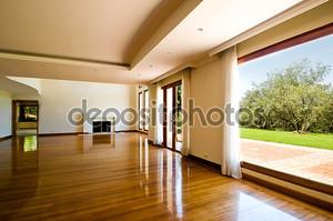 Пустой большая гостиная