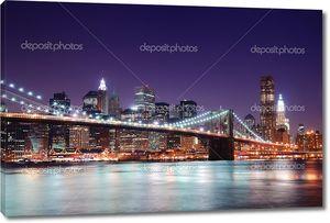 Манхэттен и Бруклинский мост