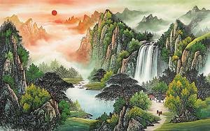 Зарево над водопадами