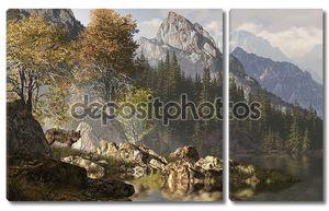 Волк и Скалистых гор