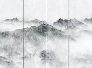 Горы на панелях