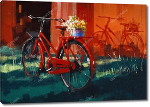 Винтажные велосипедов с ковшом