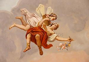 фреска ангела