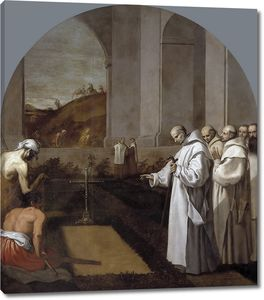 Кардучо Висенте. Погребение по картезианскому обряду