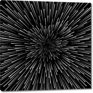 Скорость деформации Векторный фон. Радиатор гиперпространства Звездные войны эффект