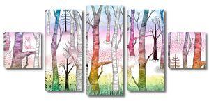 Sherwood-Звери в разноцветном лесу