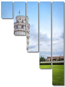 Падающая башня в Пизе, Италия