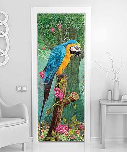 Огромный попугай
