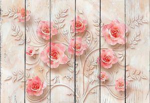 Розы на мраморе