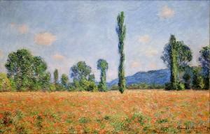 Моне Клод. Маковое поле в Живерни, 1890 02