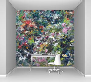 Художественный фон цветы