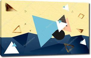 Треугольники разноцветные