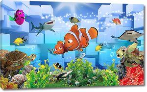 Майнкрафт под водой