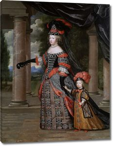 Бобрен Шарль и Анри. Мария-Тереза Австрийская и великий дофин Франции