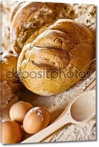Сельских Натюрморт с хлебом