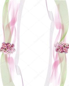 Ткань, букет из розовых цветов