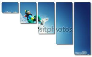 Летающий сноубордист