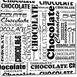 Надписи про шоколад