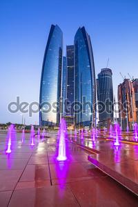 Здания в Абу-Даби