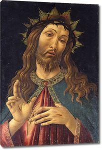 Боттичелли. Христос, увенчанный терниями
