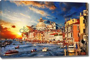 Восхитительная Венеция на sunset.view Гранд-канал
