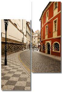 старая уличная лампа