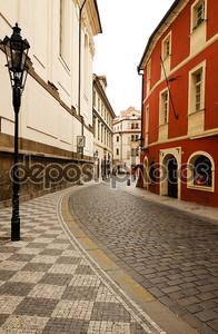Улочка в Чехии