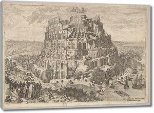 Брейгель_ученики Вавилонская башня_1