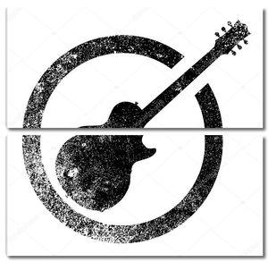 Гитара черные чернила марки