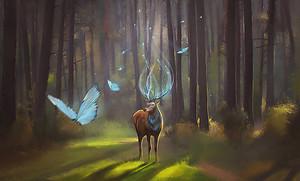 Волшебный олень