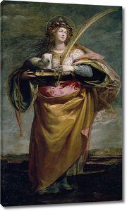 Кардучо Висенте. Святая Агнесса