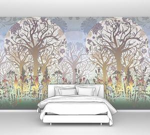 Абстракция с деревьями