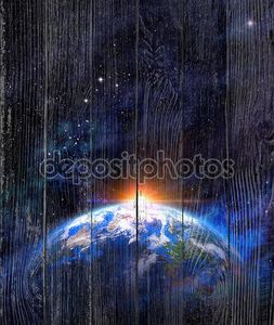 Вид с космоса на землю
